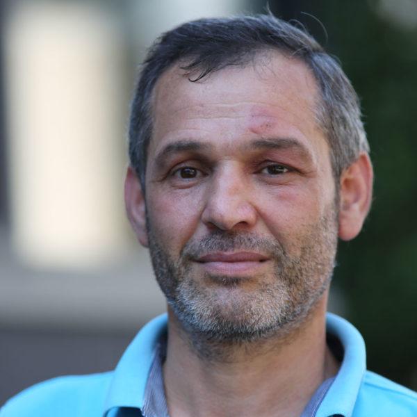 Arabisch-Dolmetscher Moutshar Salibi