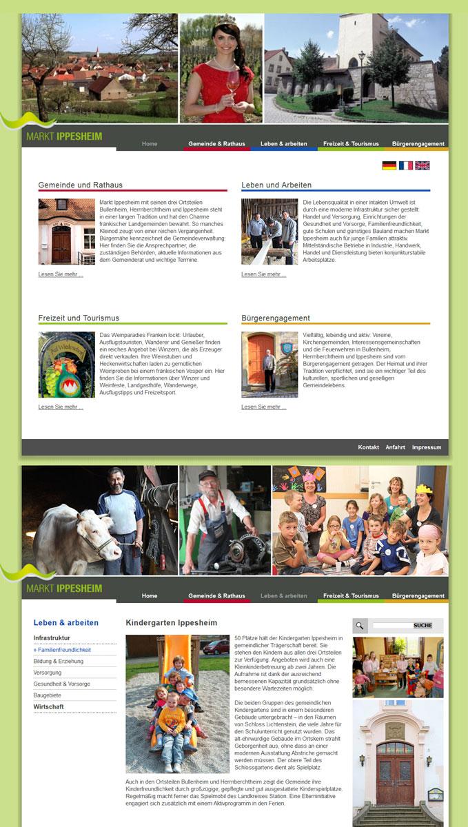 Ippesheim Webseite